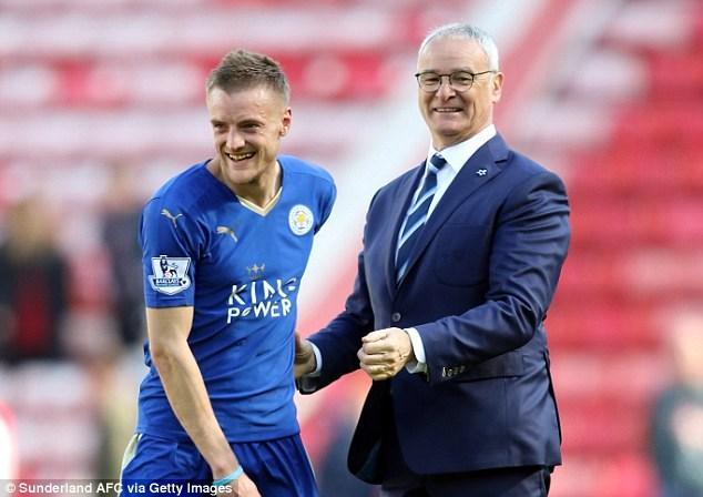 Vardy hưởng lợi từ phong cách huấn luyện độc đáo của HLV Ranieri (Ảnh: Getty Images)