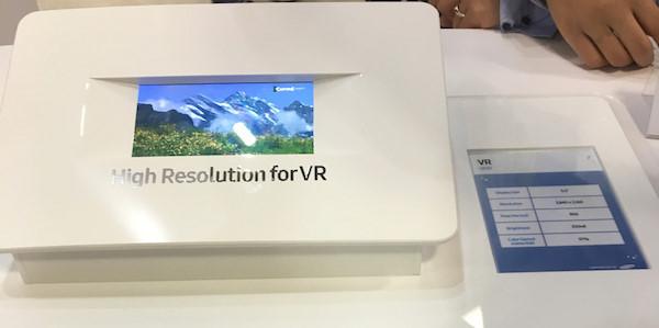 Màn hình Samsung với độ phân giải và độ nét cao phục vụ cho trải nghiệm thực tế ảo
