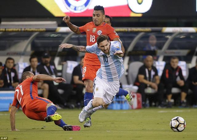 Messi đã có một kỳ Copa America đầy nỗ lực nhưng bất thành cùng Argentina