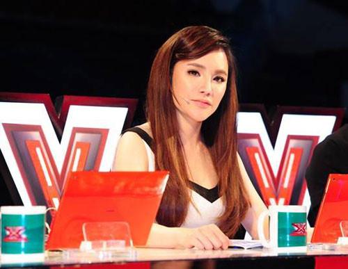 Giám Khảo Hồ Quỳnh Hương trong X-Factor - Nhân tố bí ẩn mùa 2.