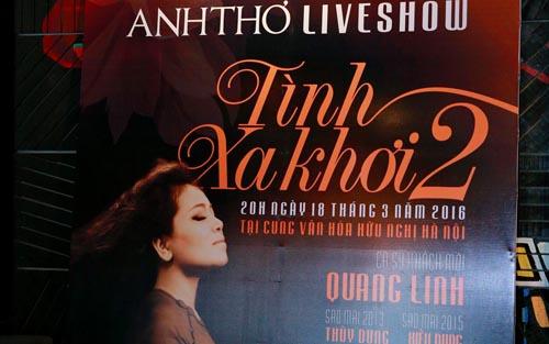 Ca sỹ Anh Thơ sẽ thực hiện Live Concert của riêng mình với chủ đề Tình Xa khơi 2