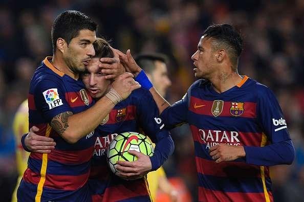 Barcelona đã trở lại với phong độ ấn tượng trong 2 trận trở lại đây. Ảnh: Getty