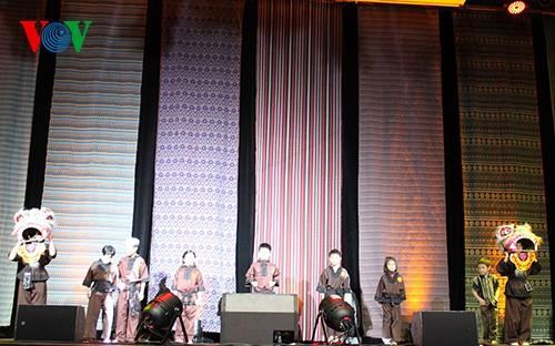 Màn biểu diễn nghệ thuật truyền thống trong chương trình.
