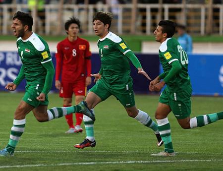 Vượt qua đội tuyển Việt Nam trong trận đấu đêm 29/3, Iraq giành quyền vào vòng loại cuối cùng World Cup 2018 - khu vực châu Á