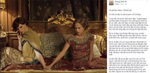 Những chia sẻ, cảm nhận của khán giả trên mạng xã hội sau khi xem xong Cô gái Đan Mạch.