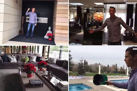 C.Ronaldo rao bán căn biệt thự của mình