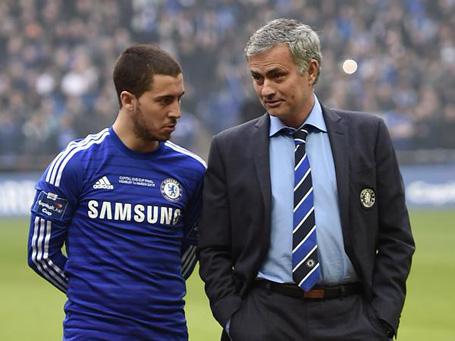 Eden Hazard xin lỗi HLV Mourinho