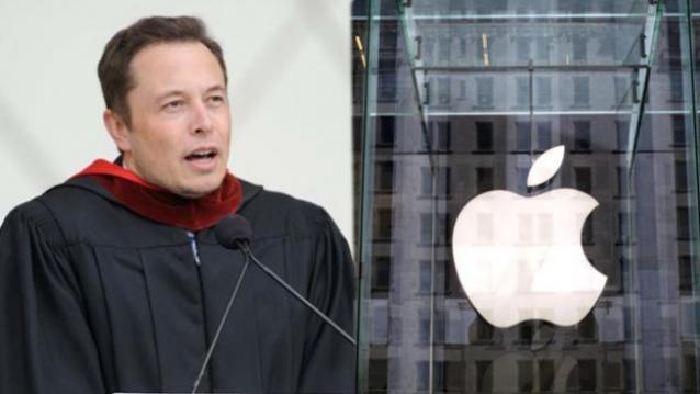 Elon Musk thường xuyên có các phát biểu về dự án xe điện của Apple.