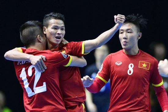 Các tuyển thủ sẽ có cú chạy đà tốt nhất cho VCK FIFA Futsal World Cup 2016