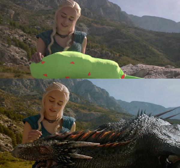 Chắc hẳn bạn sẽ rất bất ngờ khi chú rồng trong phim Game of Thrones lại là một chiếc gối ôm đích thực.