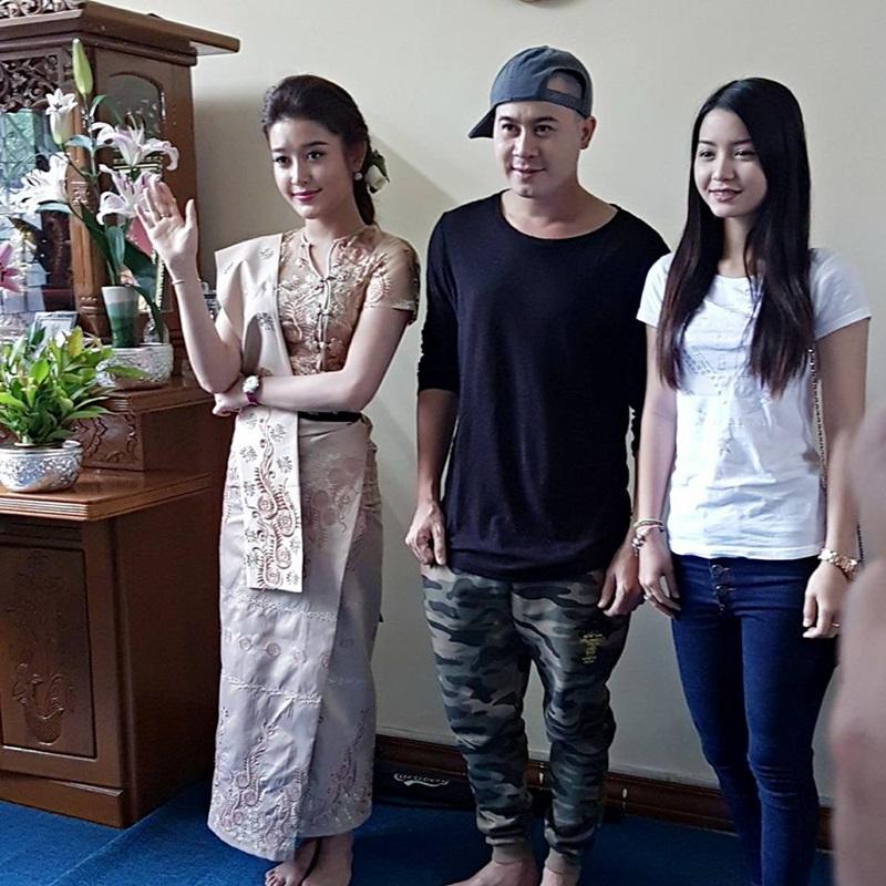 Huyền My đã chính thức bay sang Myanmar để thực hiện bộ phim Điện ảnh về tình hữu nghị hợp tác giữa hai nước.