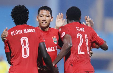 B.Bình Dương tiếp tục hy vọng vào sức mạnh sân nhà trong cuộc tiếp đón FC Tokyo