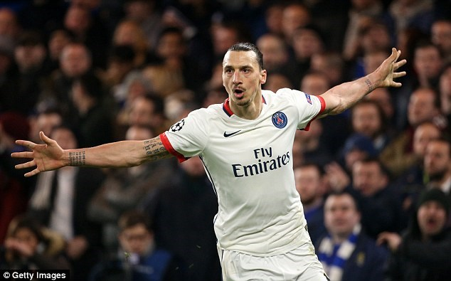 Ibrahimovic chia tay PSG