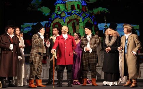 Vở kịch dựa theo một số gợi ý của bậc văn tài đàn anh Puskin (một nhà văn tiền bối của Gogol)