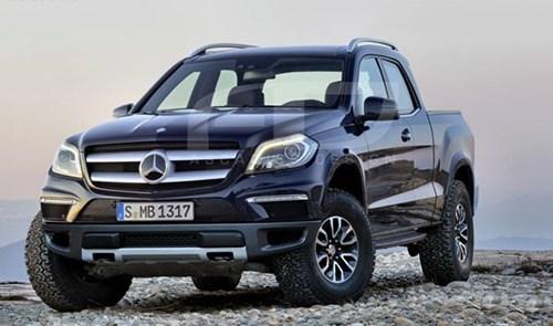 Mercedes chuẩn bị ra mắt dòng xe bán tải.