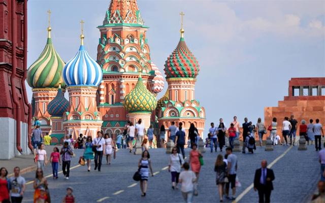 Thủ đô Moscow Nga bị bình chọn là thành phố du lịch kém thân thiện nhất thế giới