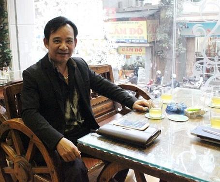 Chân dung Nghệ sỹ Quang Tèo (Ảnh: Q.Nguyên)