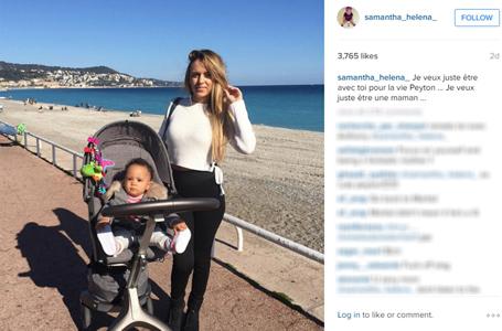 Dòng trạng thái trên Instagram của vợ Martial