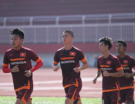 Đội tuyển U23 Việt Nam chuẩn bị mở hàng cho thể thao Việt Nam trong năm bằng VCK U23 châu Á