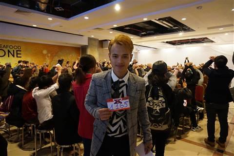 Nguyễn Thái Quang, một thành viên của đội của HLV Mỹ Linh tại Giọng hát Việt 2013 quyết định tiếp tục đăng ký tham dự X-Factor