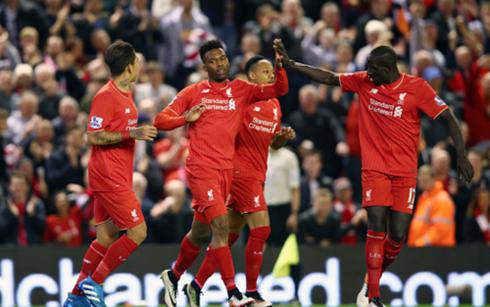 Liverpool có chiến thắng cách biệt 4-0 trước Everton. (Ảnh: Getty)