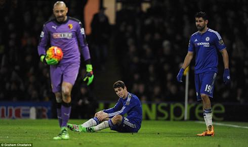 Chelsea bế tắc trên sân Watford. (Ảnh: GG)
