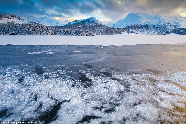 Hai nhiếp ảnh gia cho rằng họ đã rất may mắn chụp được những bức ảnh này vì tuyết rơi dày đặc đang ngày trở nên hiếm hoi trong các mùa đông gần đây.
