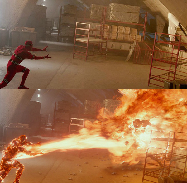 Sự thật đằng sau một cảnh quay bùng cháy trong phim X-Men: Days of Future