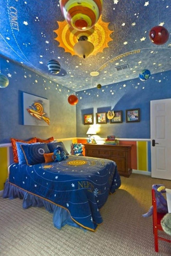 Phòng ngủ của nhà du hành vũ trụ tương lai.