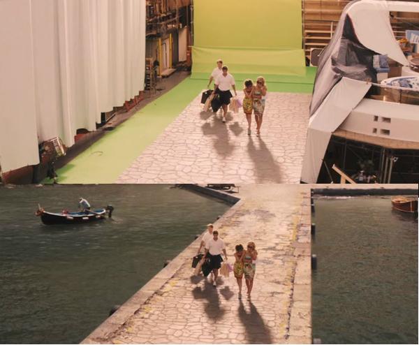 Hay bạn muốn đi dạo trên một cây cầu thơ mộng như trong The Wolf of Wall Street?