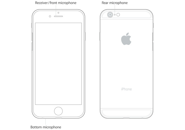 Mỗi chiếc iPhone đều có 3 microphone