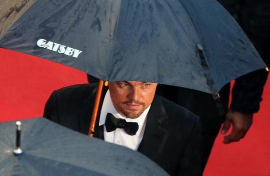 Quảng bá phim The Great Gatsby tại LHP Cannes năm 2013