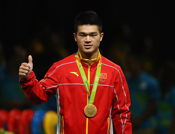 14/ Shi Zhiyong (Cử tạ 69kg nam - Trung Quốc)