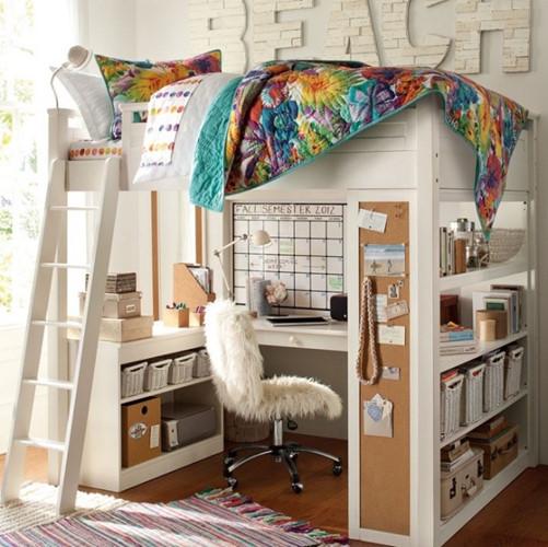Căn phòng lý tưởng cho một thiếu niên.