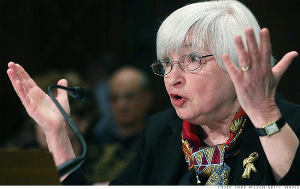 Chủ tịch của FED, bà Janet Yellen dự kiến sẽ có bài phát biểu vào ngày 26/8 tới đây (Ảnh: CNN)