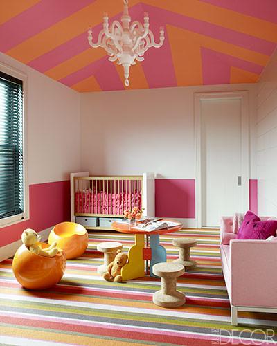 Một không gian ngọt ngào dành cho các bé gái