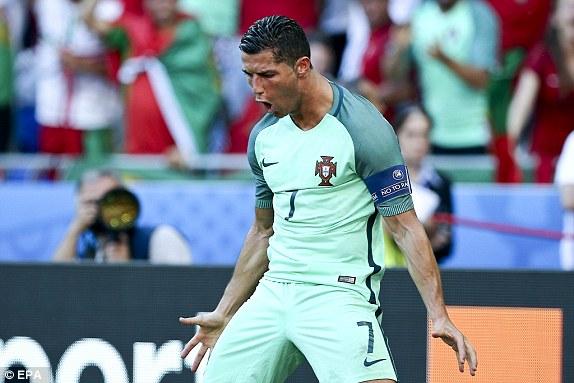 Ronaldo đã lập kỷ lục EURO trong ngày anh đưa ĐT Bồ Đào Nha vào vòng 1/8.