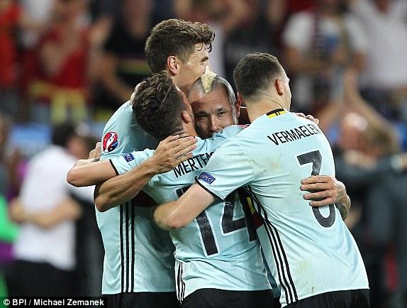 ĐT Bỉ giành chiến thắng tối thiểu trước ĐT Thụy Điển
