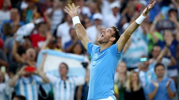Niềm vui chiến thắng của Del Potro, tay vợt tài năng nhưng thường xuyên bị chấn thương hành hạ