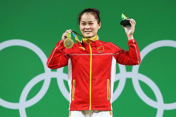 15/ Deng Wei (Cử tạ 63kg nữ - Trung Quốc)