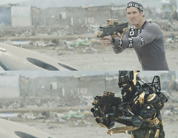Người vẫn có thể biến thành robot, điều đó đã được minh chứng qua rất nhiều bộ phim như Elysium.