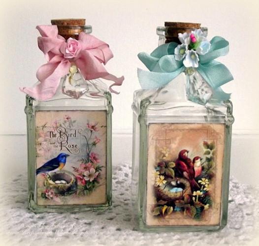 Tô điểm cho ngôi nhà của bạn với những chai trang trí hoặc tặng ai đó như một món quà.