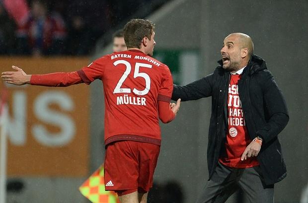 Muller đang là mắt xích cực kỳ quan trọng trong lối chơi của Bayern Munich dưới thời HLV Pep Guardiola