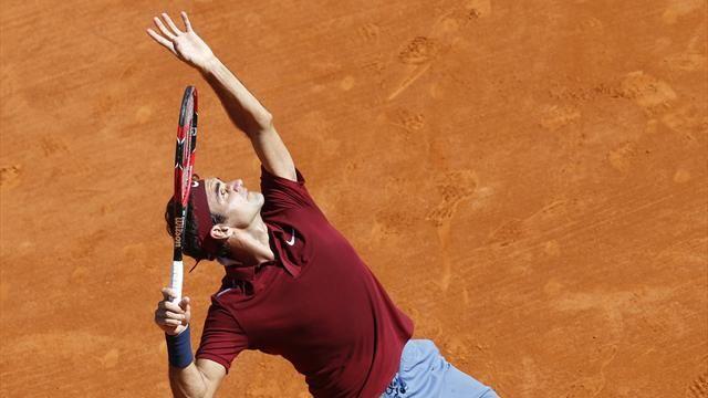 Federer tiếp tục thể hiện phong độ ấn tượng sau chấn thương (Ảnh: Eurosport)