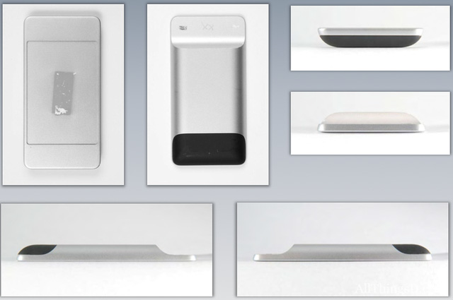 Concept iPhone với cạnh dưới lõm xuống trong khi camera sau có thiết kế Nexus 6P