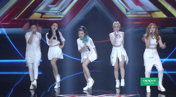 Những cô nàng cá tính và chất lừ với trang phục mang phong cách rất 'Hàn Quốc.