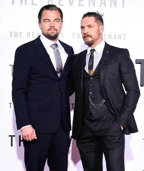 Leonardo DiCaprio và Tom Hardy