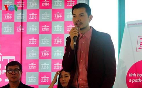 Ông Trịnh Minh Tiến - người sáng lập Real Art và Tết Art.