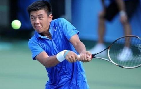 Hoàng Nam đã vươn lên hạng 909. (Ảnh: ITF)
