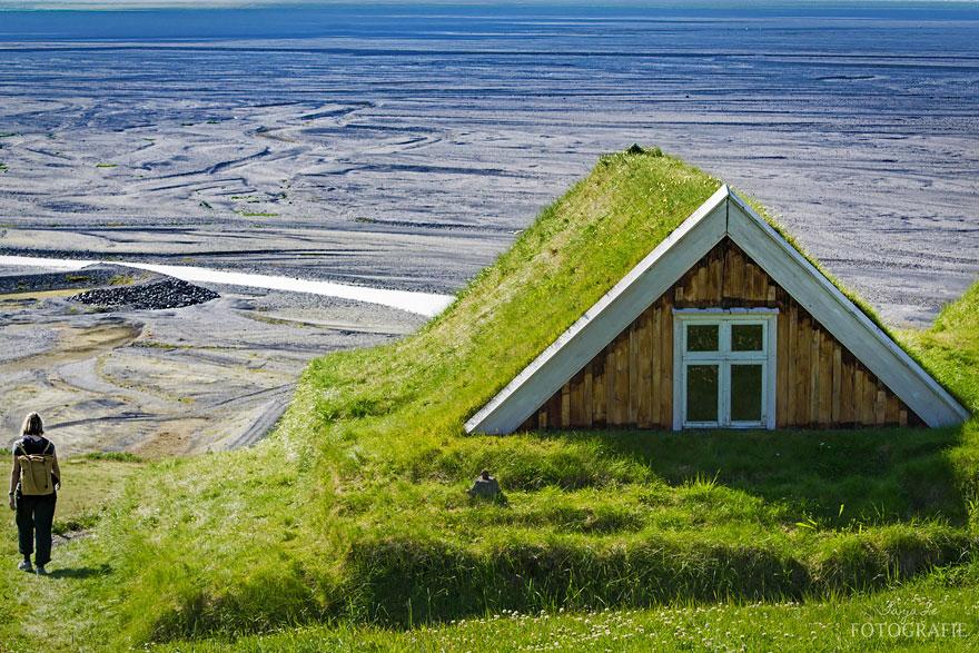 Tại Công viên Quốc gia Vatnajökull, Iceland